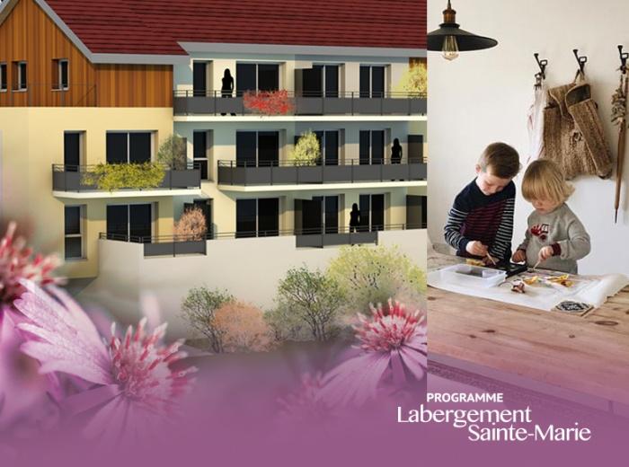 LABERGEMENT-SAINTE-MARIE 13 logements