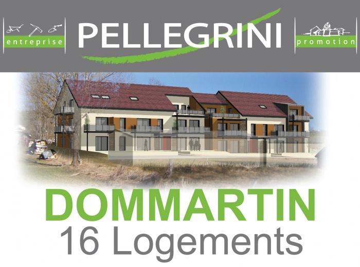 Réalisation de 16 logements à DOMMARTIN (25300)